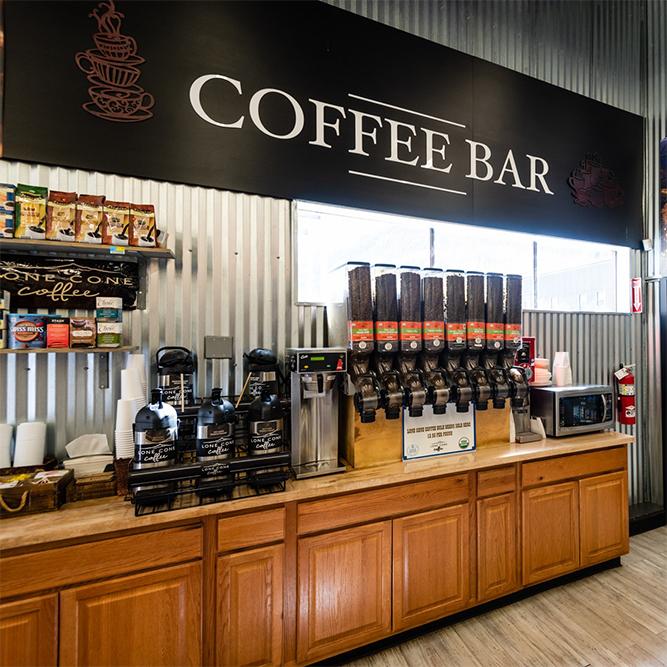 coffee bar in telluride