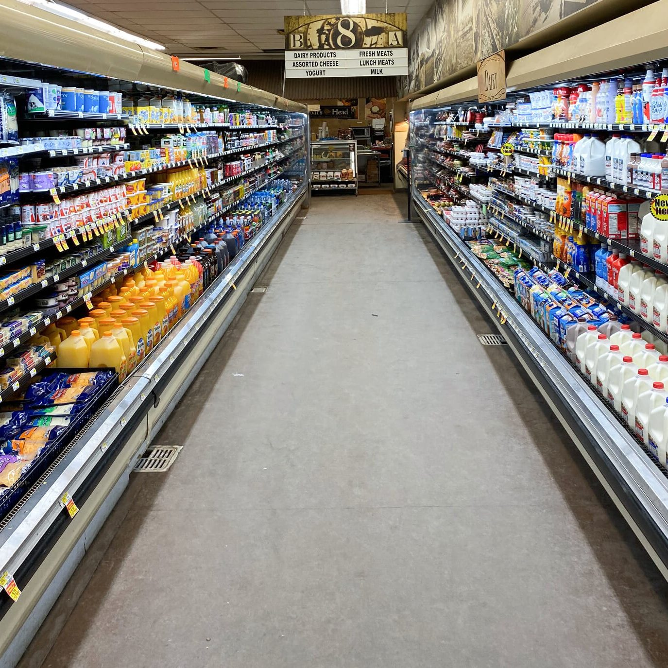 grocery store near divide