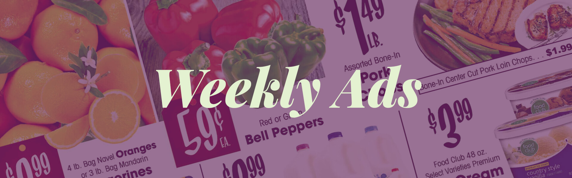 weekly ads for the market